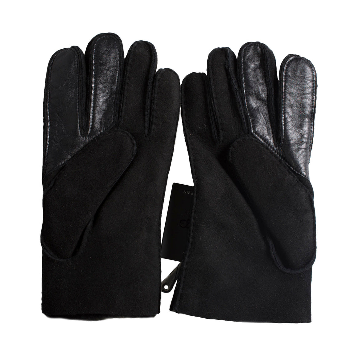 UGG Sheepskin Smart Black Gloves - Men's