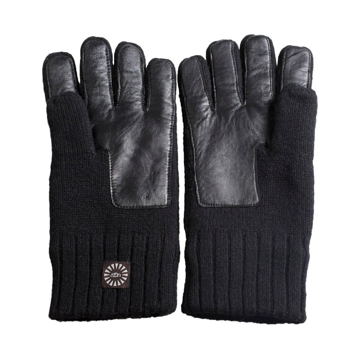 UGG Knit Smart Palm Black Gloves - Men's
