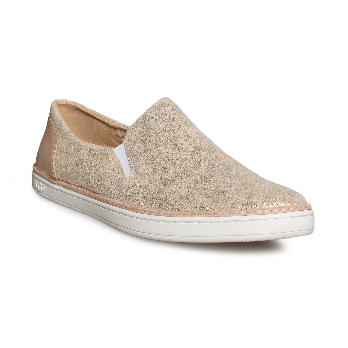 UGG Adley Perf Stardust Gold Shoes - Women's