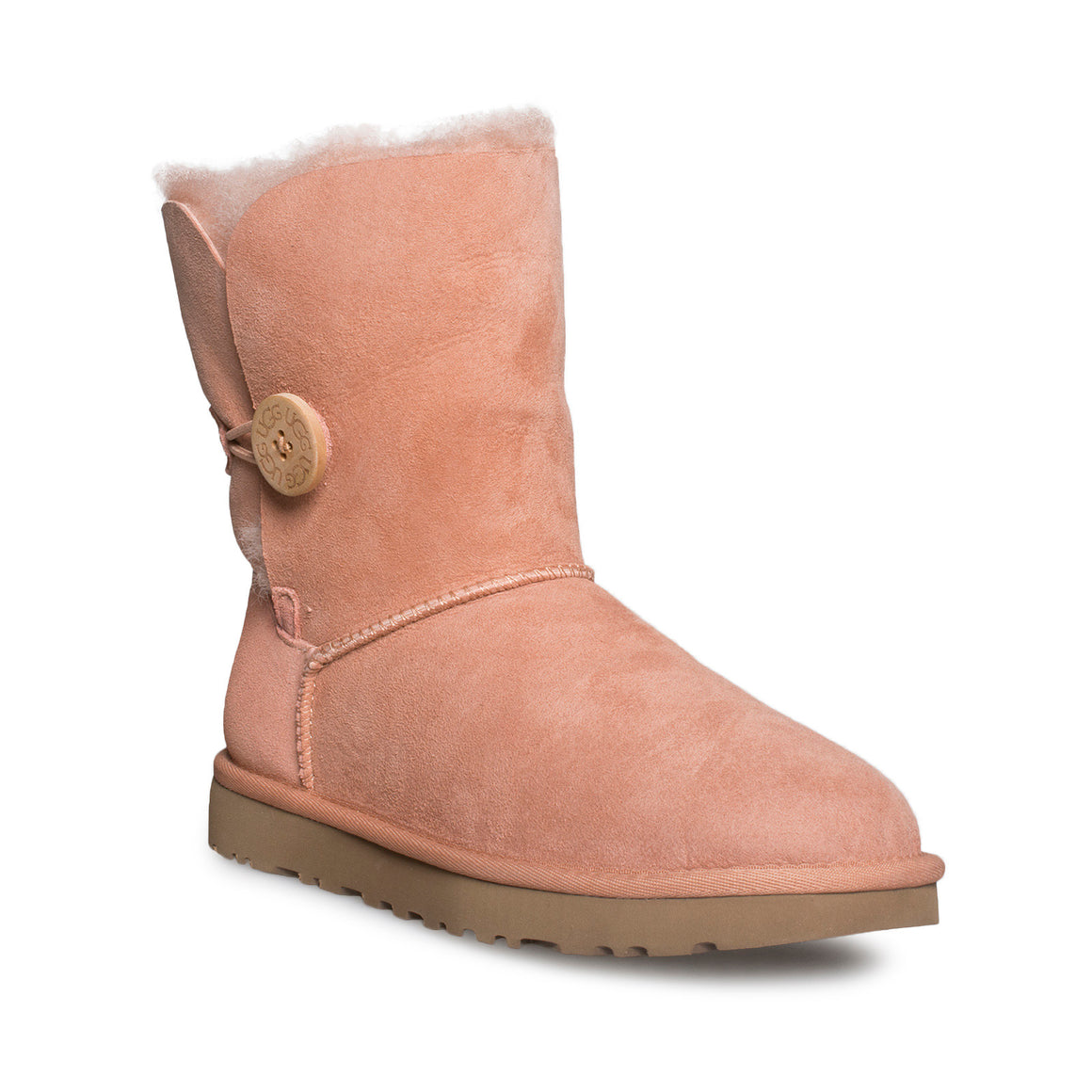 UGG Bailey Button II Suntan Boots - Women's