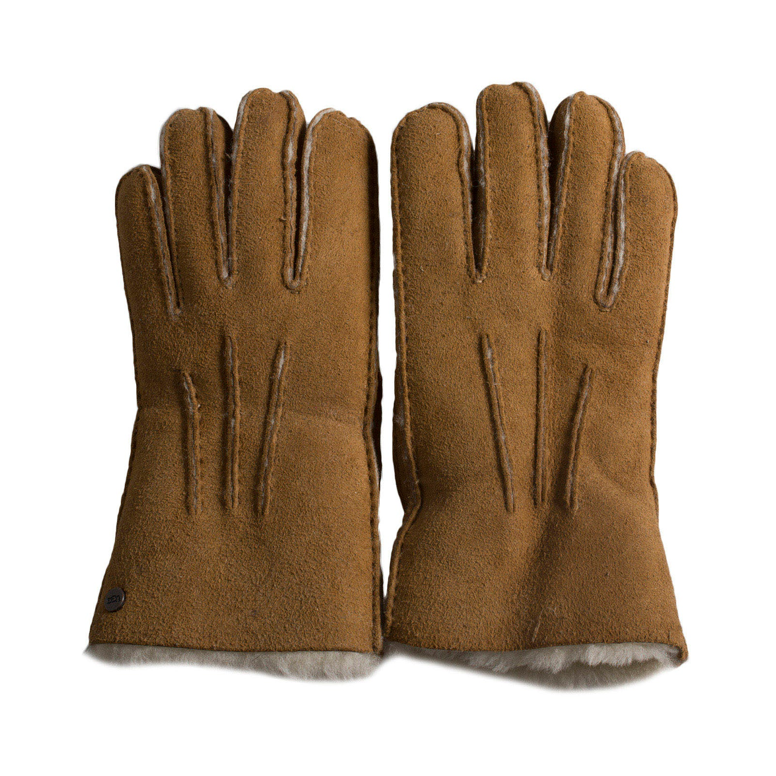 4484c1615d63d UGG Sheepskin Smart Chestnut Gloves - Women s