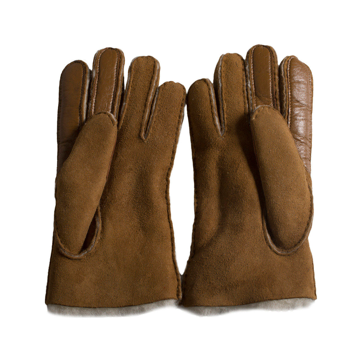 UGG Sheepskin Smart Chestnut Gloves - Women's