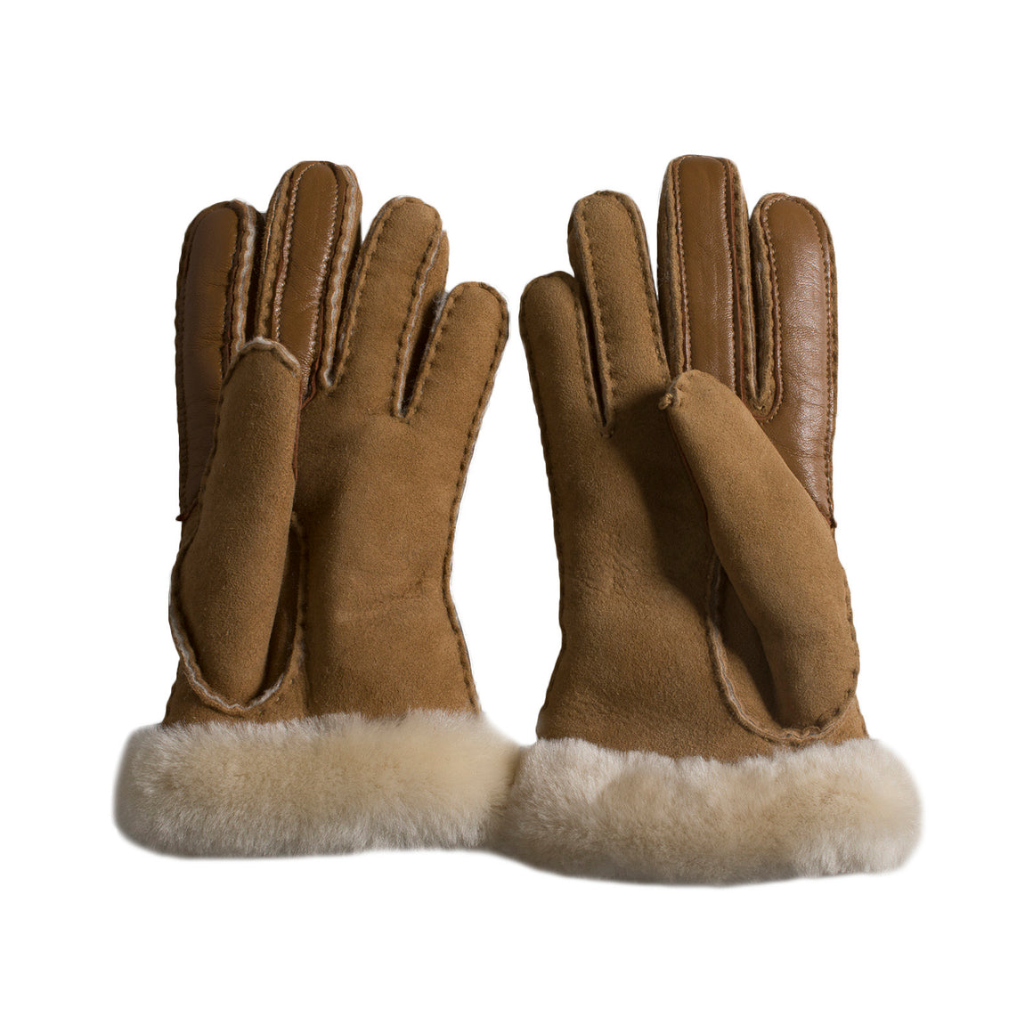 UGG Carter Smart Chestnut Gloves - Women's