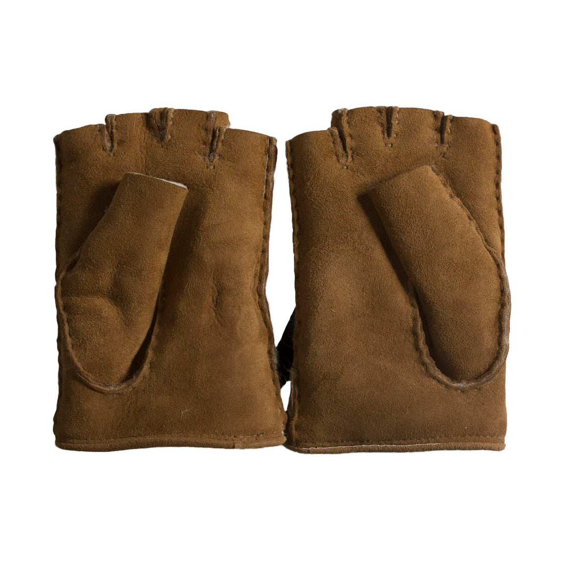 UGG Mckay Fingerless Driver Chestnut Gloves - Women's