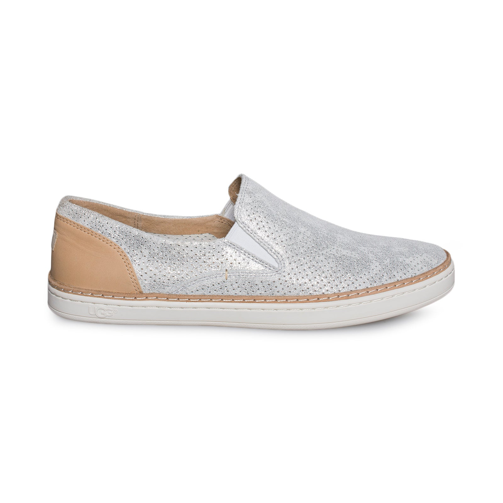 41196a85034 UGG Adley Perf Stardust Silver Shoes - Women's