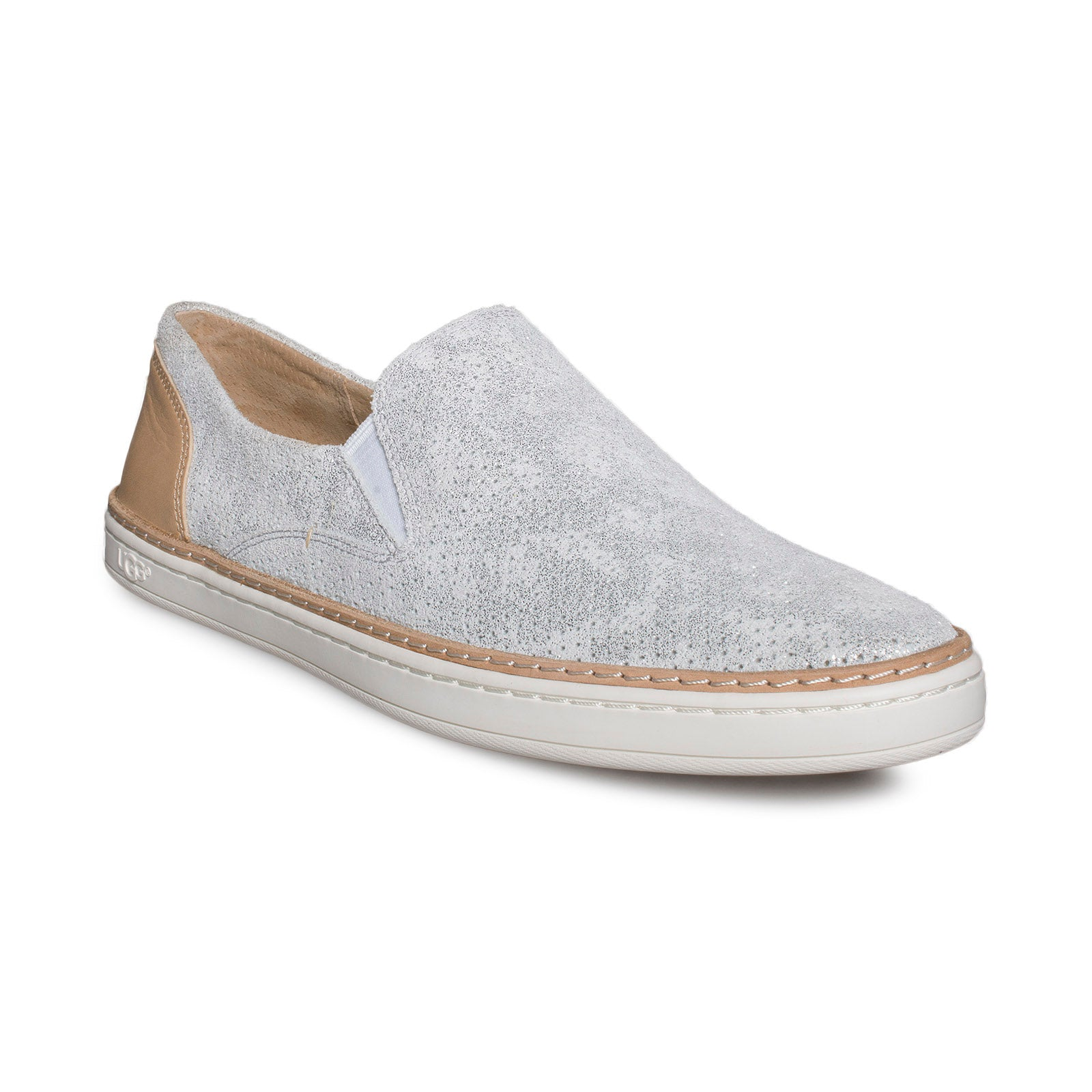 UGG Adley Perf Stardust Silver Shoes