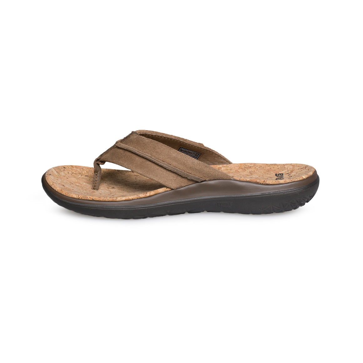 Teva Terra Float Flip Lux Dark Earth Flip Flops - Men's