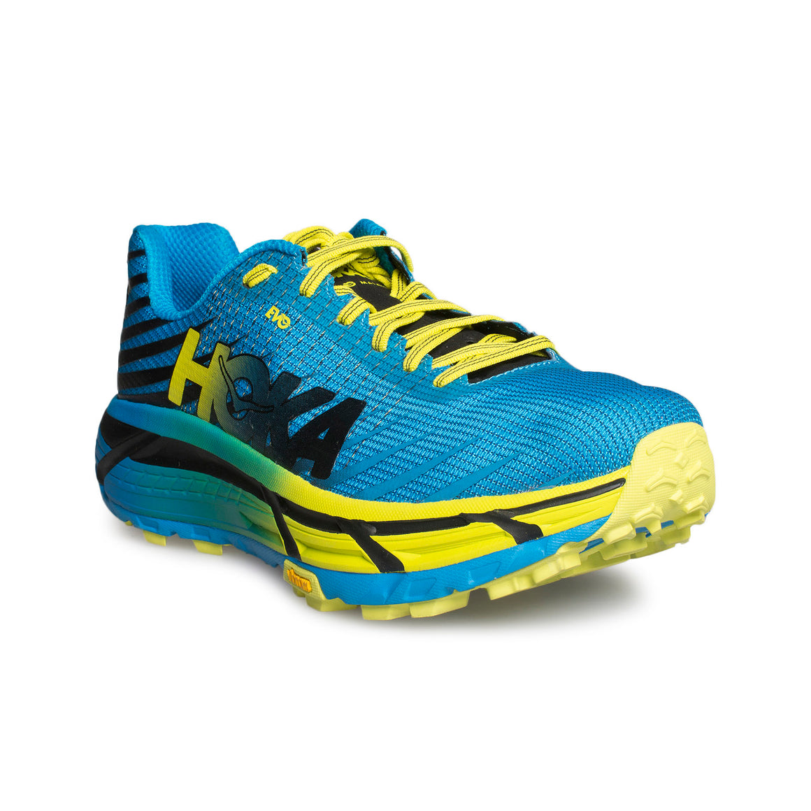 HOKA Evo Mafate Cyan / Citrus Running Shoes - Men's