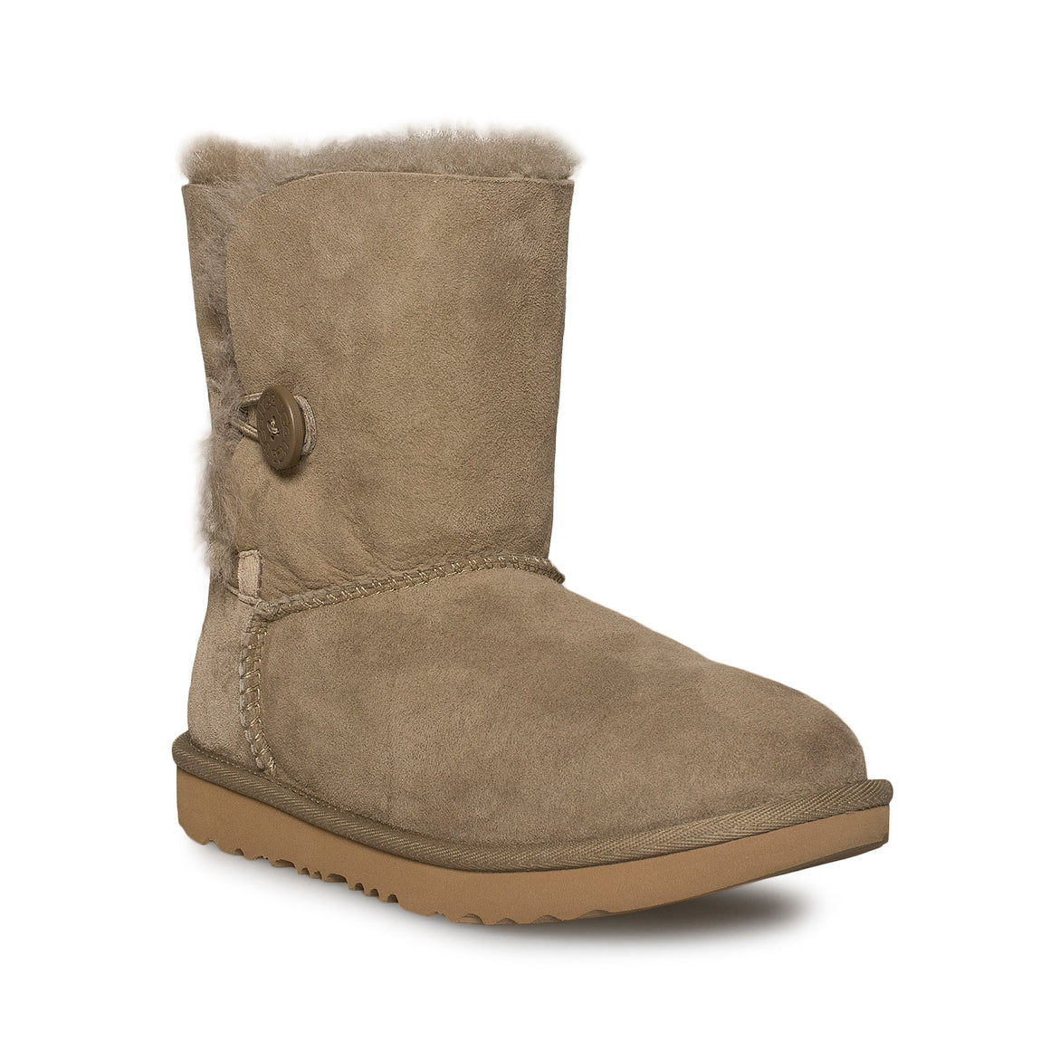 UGG Bailey Button II Antilope Boots - Youth