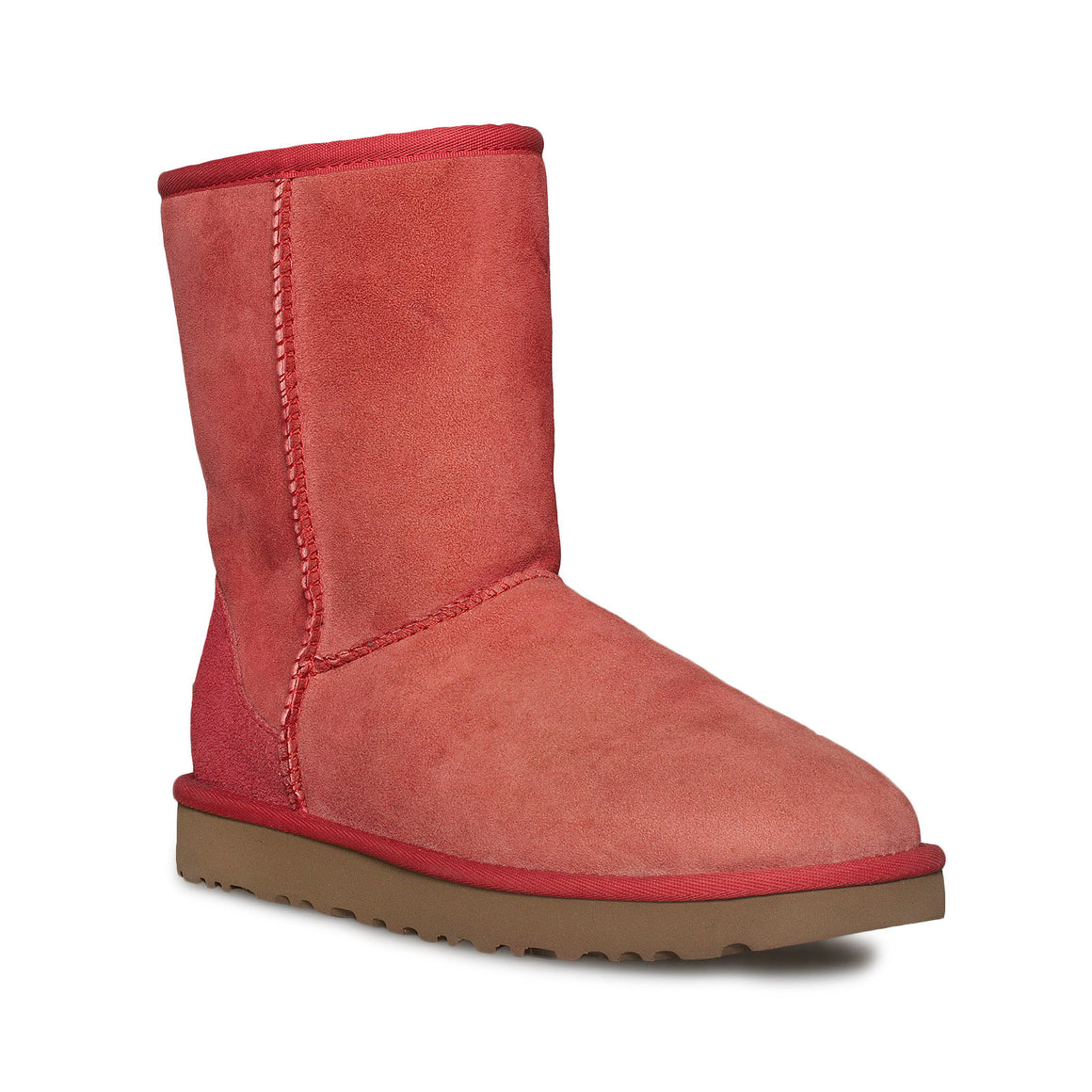 UGG Classic Short II Ribbon Red Boots - Women's