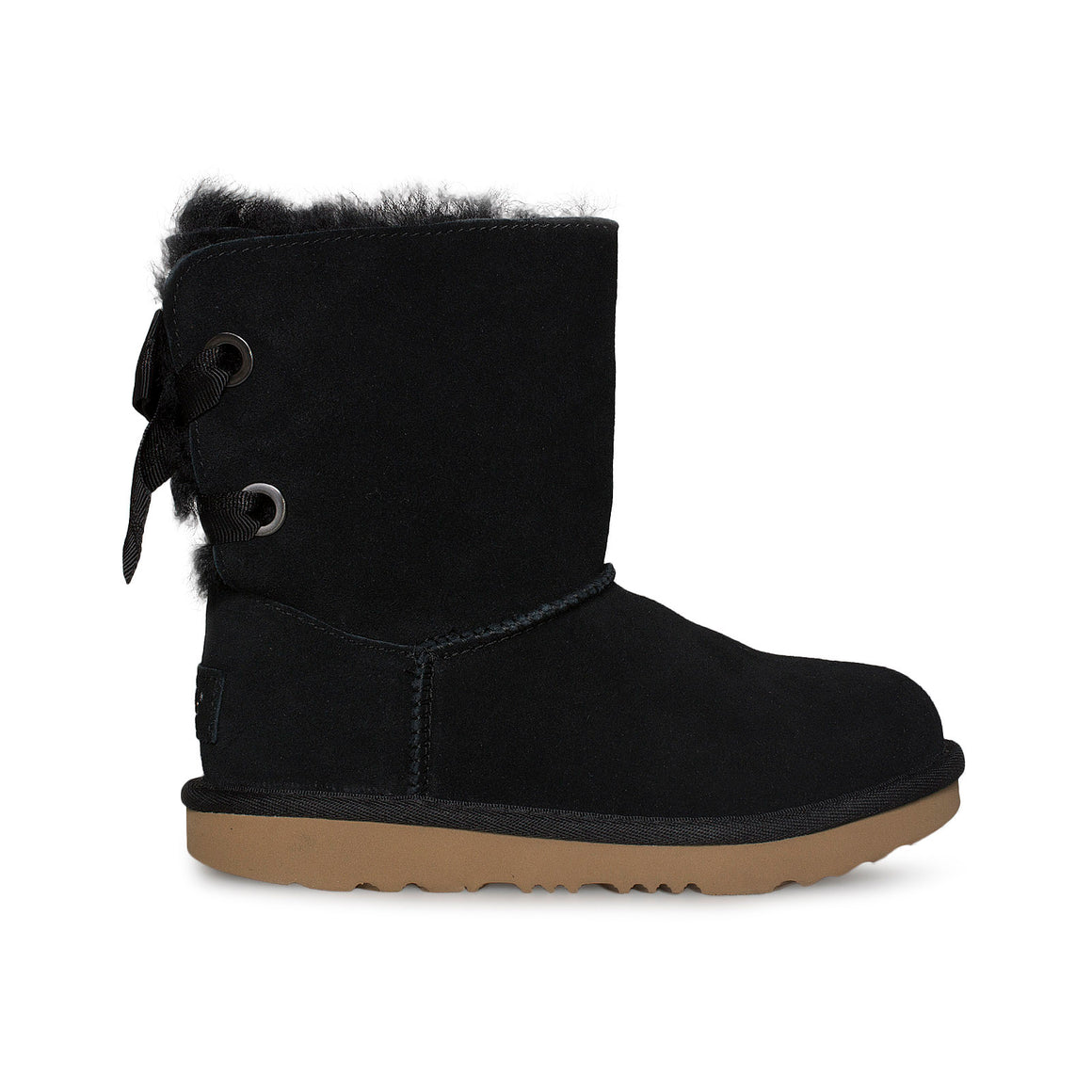 UGG Customizable Bailey Bow ii Black Boots - Toddler / Youth