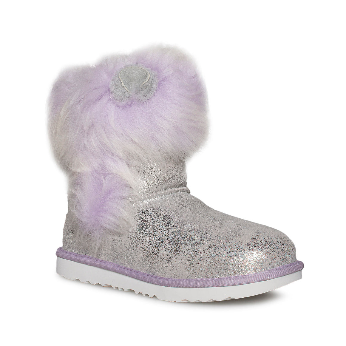 UGG Maizey Classic II Silver / Lavender Boots - Youth