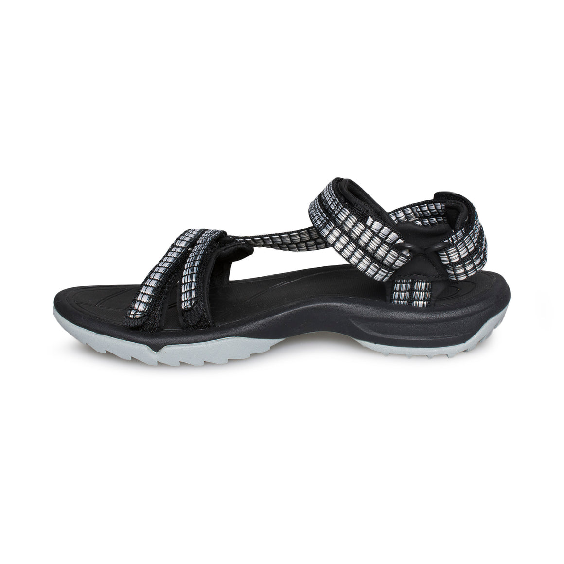 TEVA Terra Fi Lite Samba Black Multi Sandals - Women's