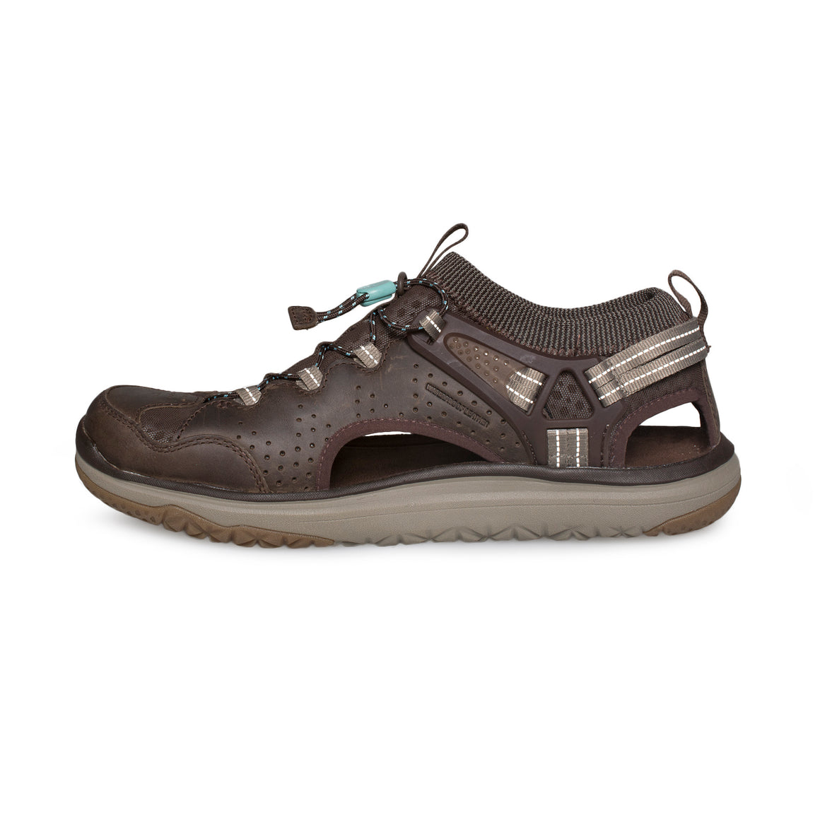 TEVA Terra Float Travel Lace Chocolate Brown Sandals - Women's