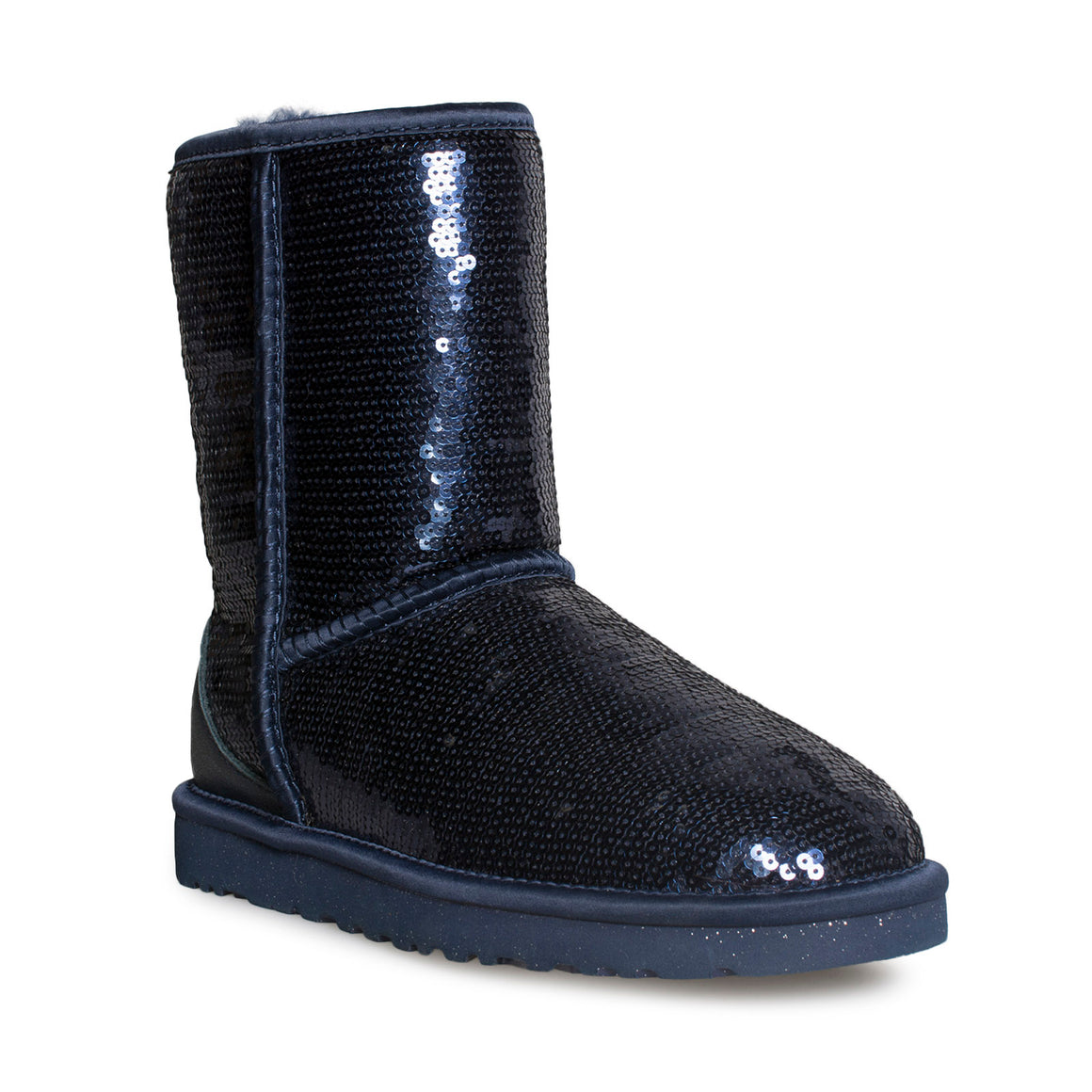 UGG Classic Short Sparkles Midnight Boots - Women's