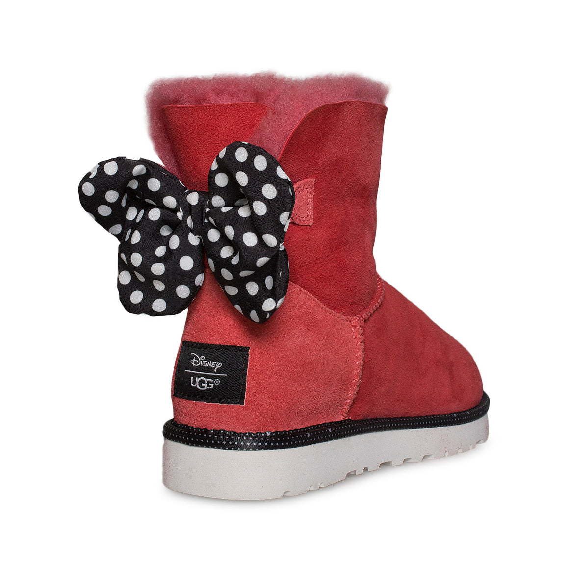 UGG Disney Minney Mouse Sweetie Bow Red Boots - Women's