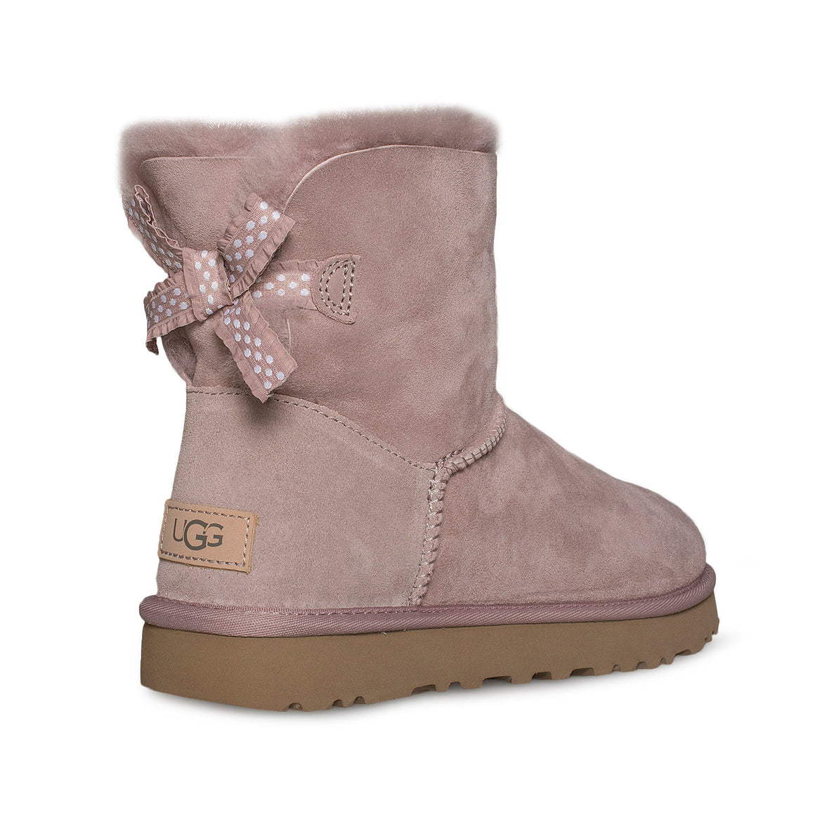 UGG Mini Bailey Bow II Ruffled Dusk Boots - Women's