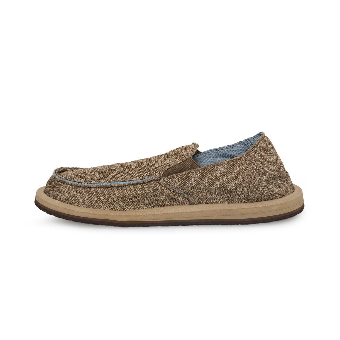 Sanuk Vagabond Mesh Brown Shoes - Men's