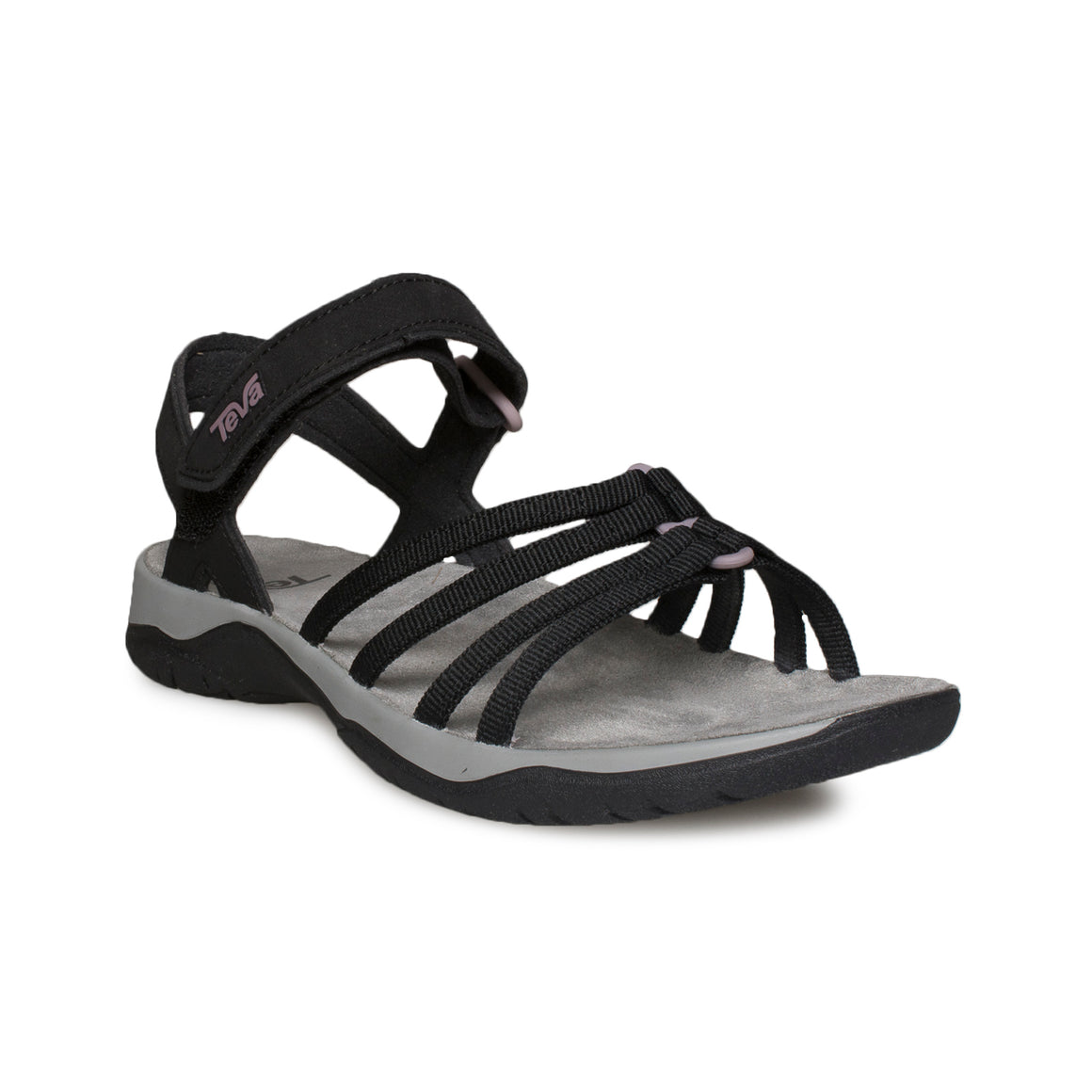 Teva Elzada Web Black Sandals - Women's