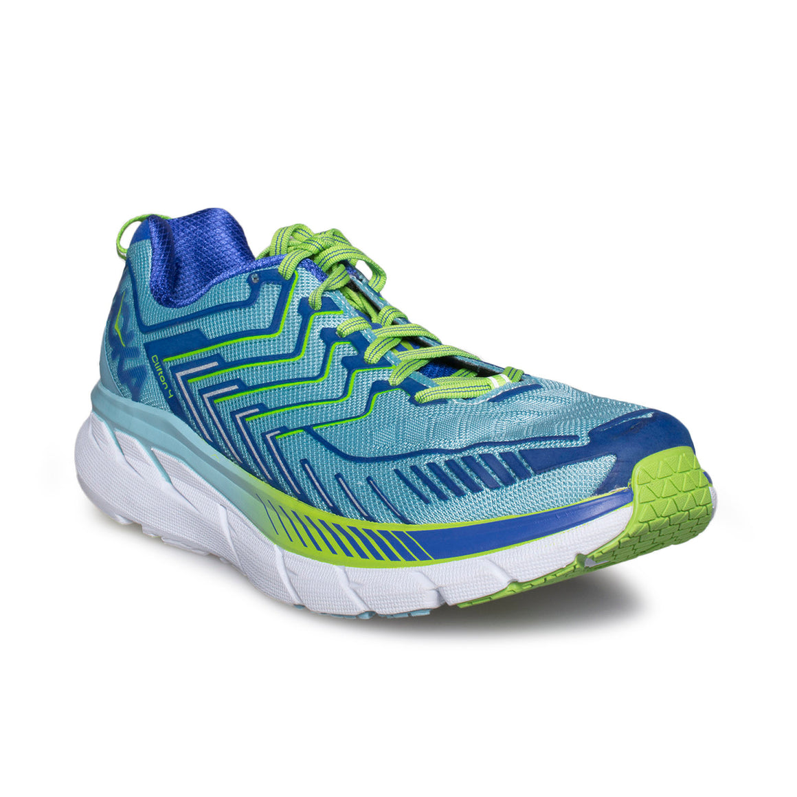 Hoka Clifton 4 Sky Blue / Surf The Web Running Shoes - Women's