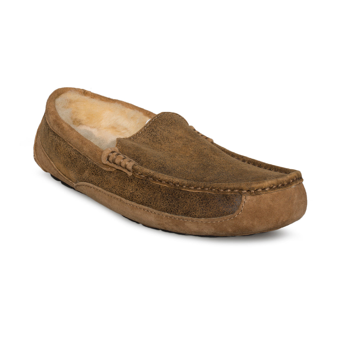 UGG Ascot Bomber Jacket Chestnut Slippers - Men's