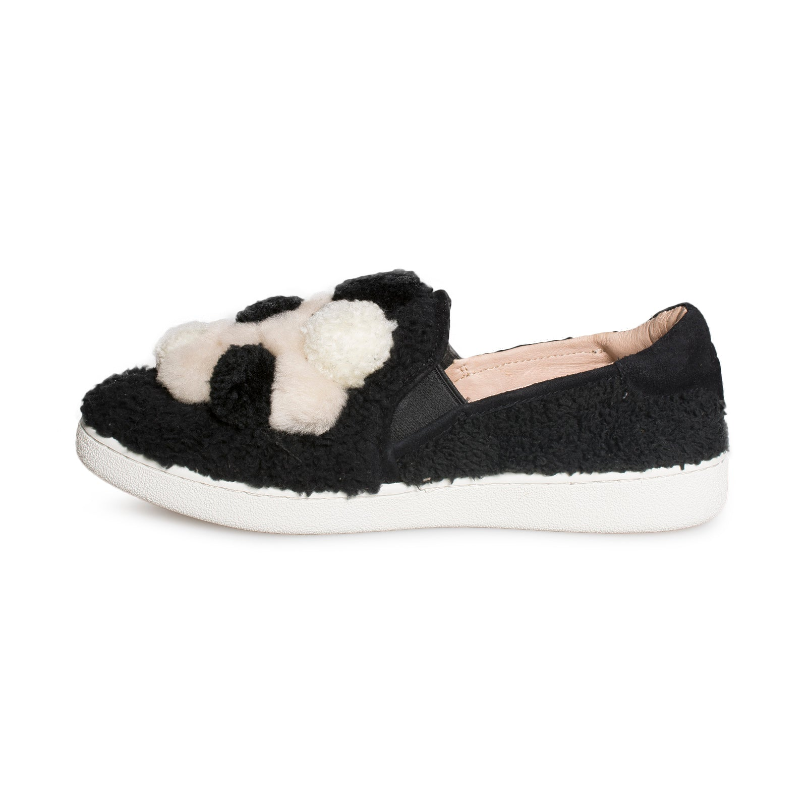 1ed7cff96d5 UGG Ricci Pom Pom Black Shoes - Women's