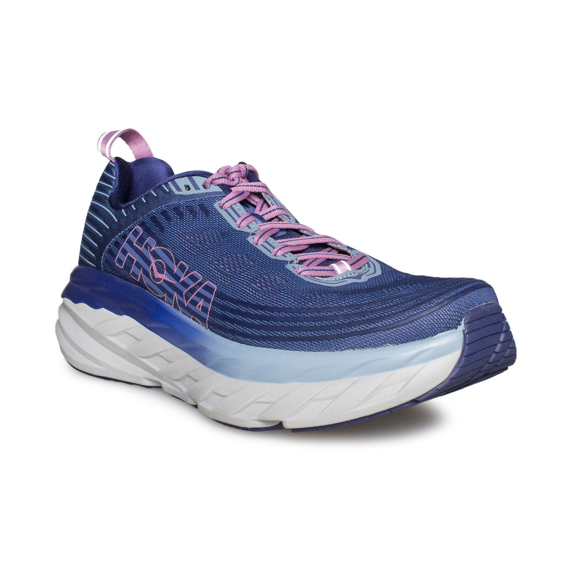HOKA ONE ONE Bondi 6 Marlin / Blue Ribbon Running Shoes - Women's