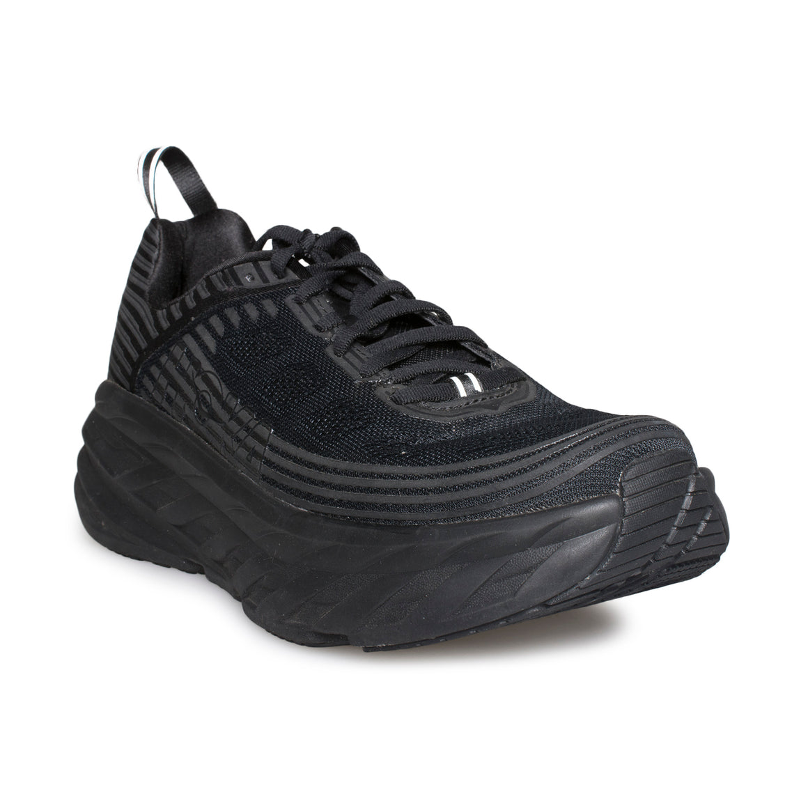 HOKA ONE ONE Bondi 6 Black / Black Running Shoes - Men's