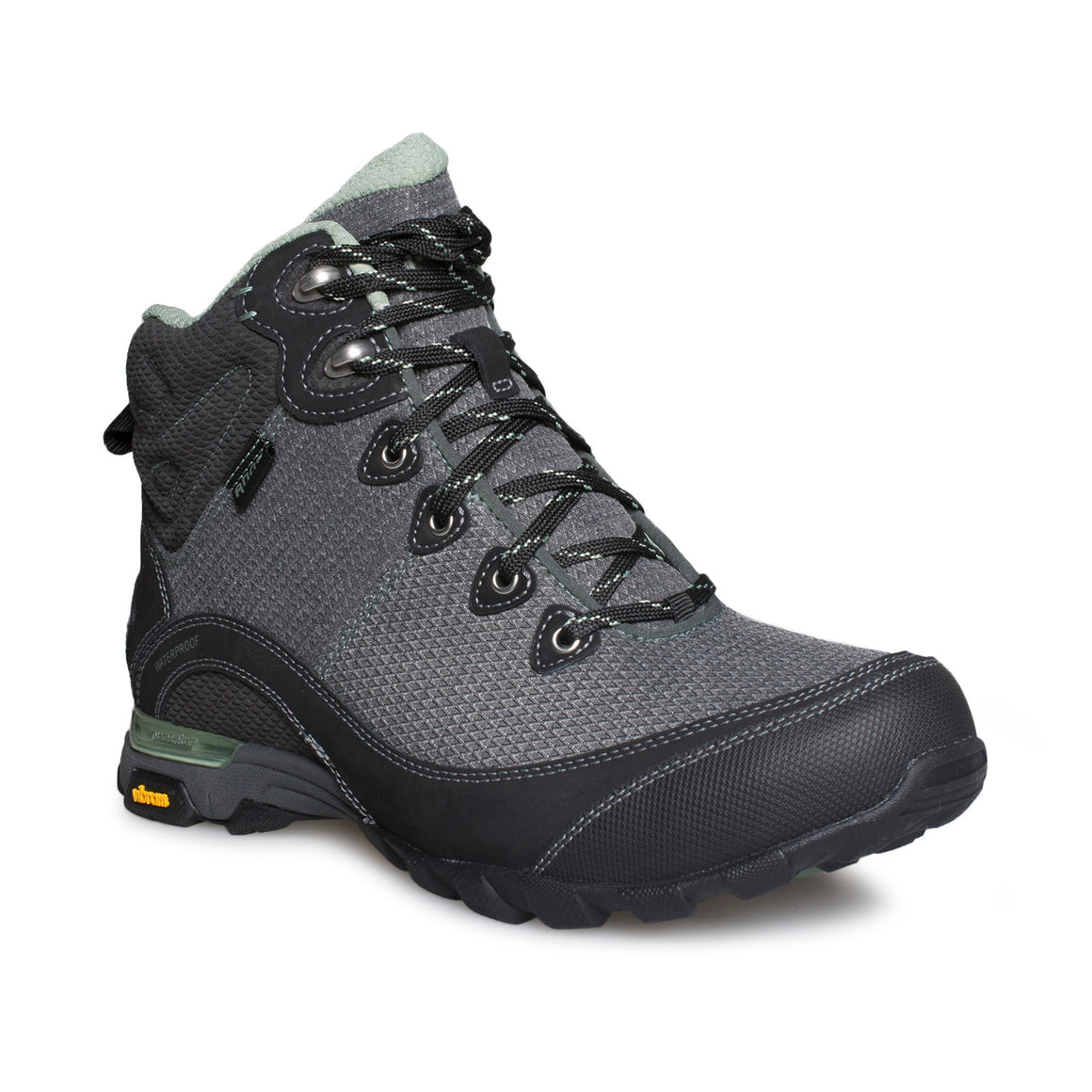 Ahnu Sugarpine II WP Boot Black / Green Bay - Women's