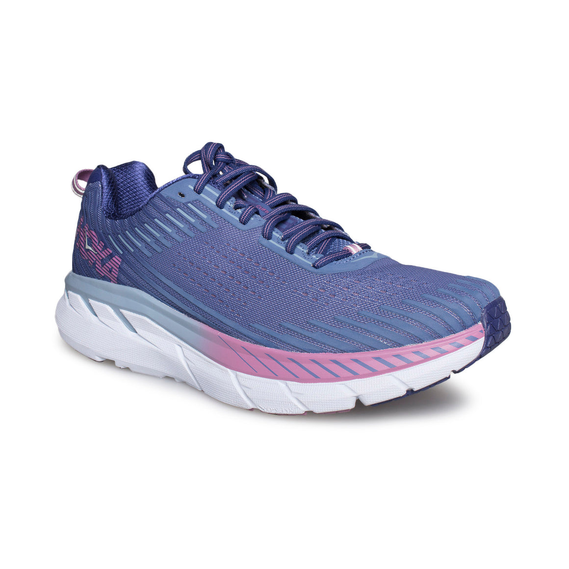 Hoka One One Clifton 5 Marlin / Blue Ribbon Running Shoes - Women's