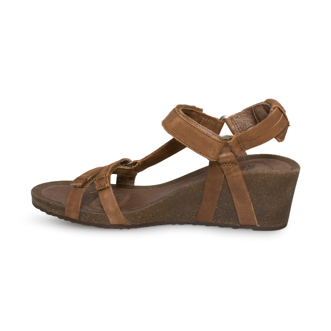Teva Ysidro Universal Wedge Brown Sandals