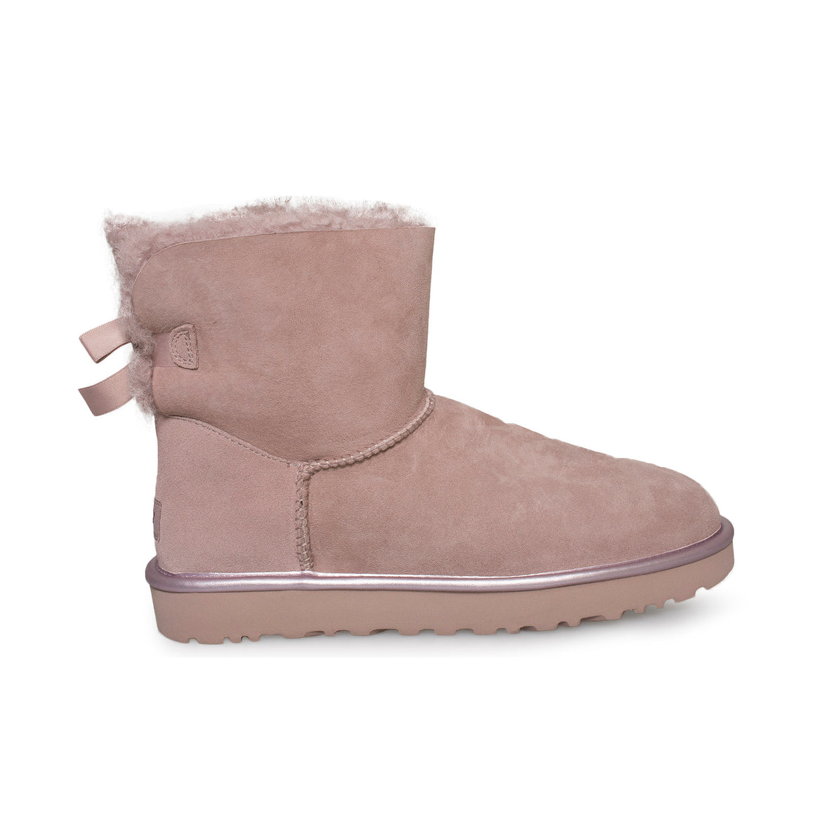 UGG Mini Bailey Bow II Metallic Dusk Boots