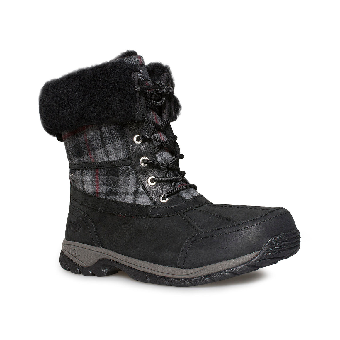 UGG Butte Tartan Plaid Boots - Men's