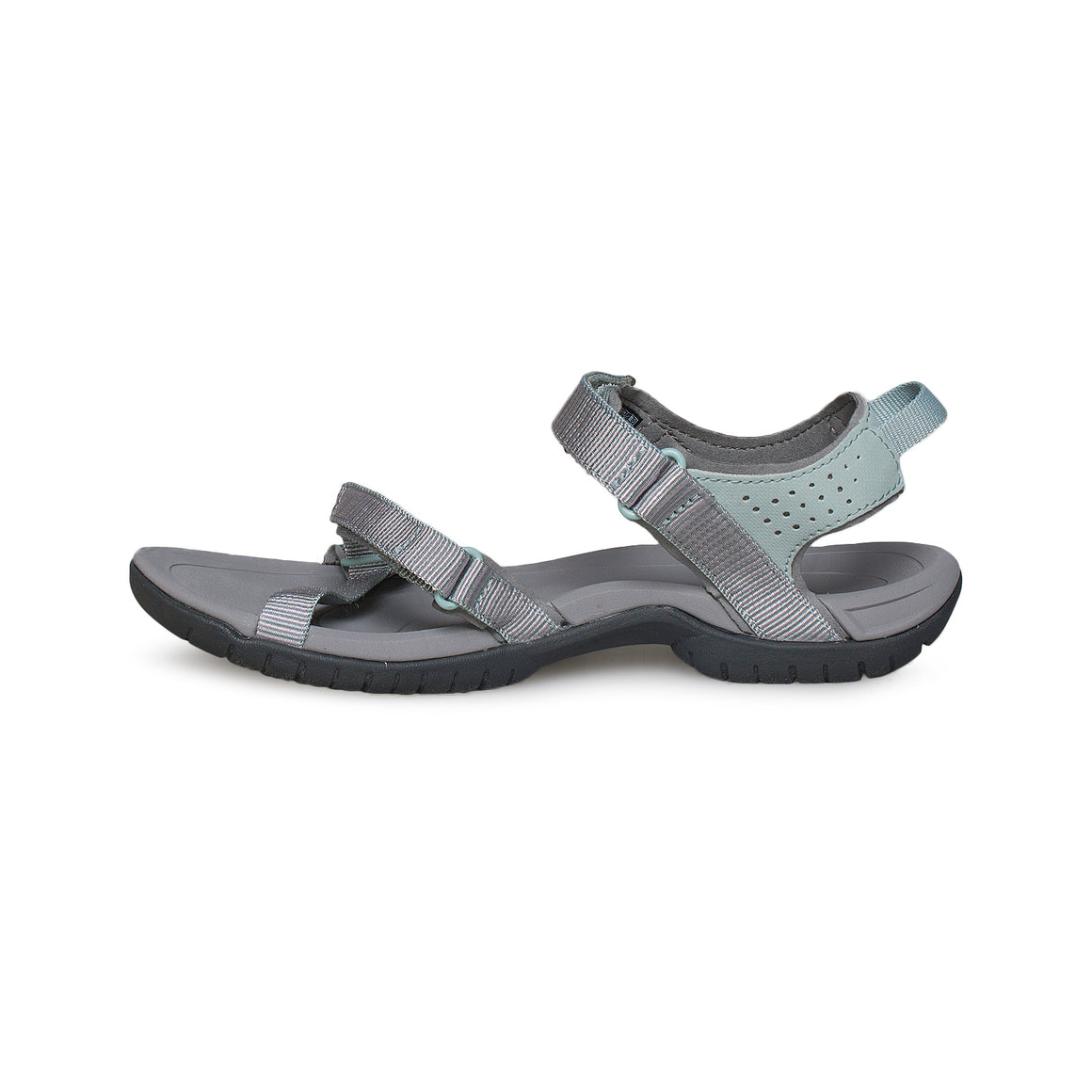 Teva Verra Spili Ladder Gray Mist Sandals - Women's