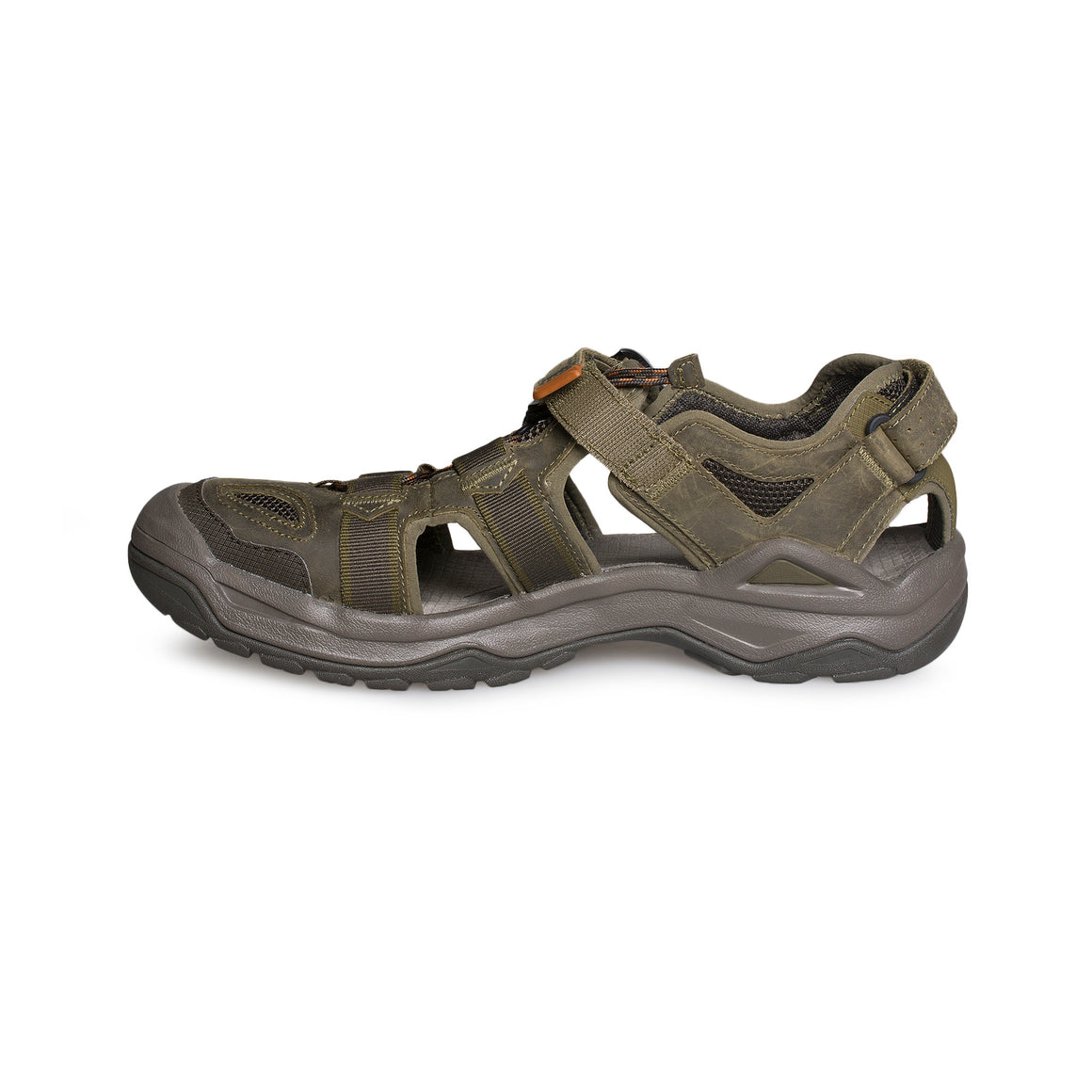 Teva Omnium 2 Leather Dark Olive Sandals - Men's