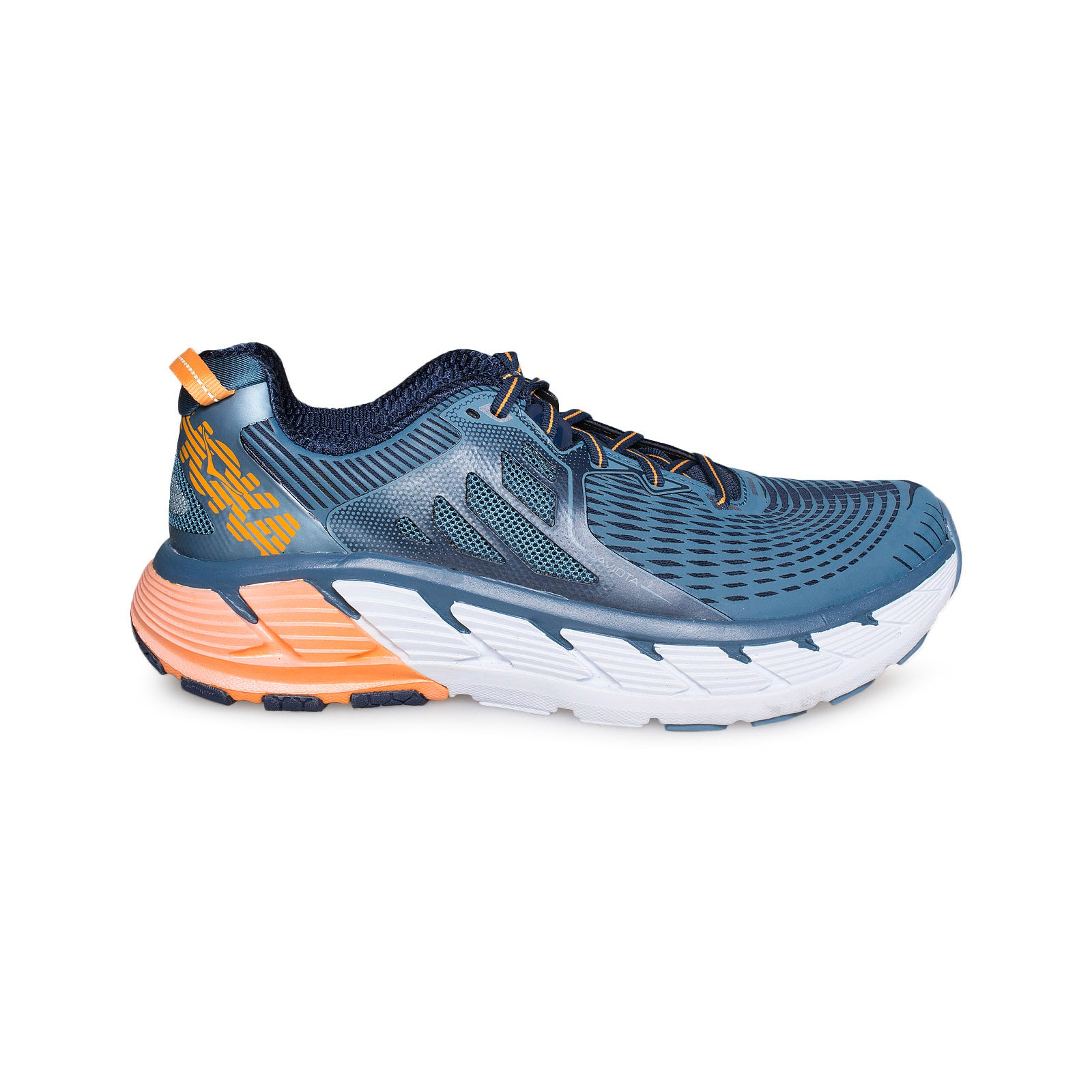 official photos 81f42 ec8f7 Hoka One One Gaviota Bluestone / Black Iris Running Shoes - Men's
