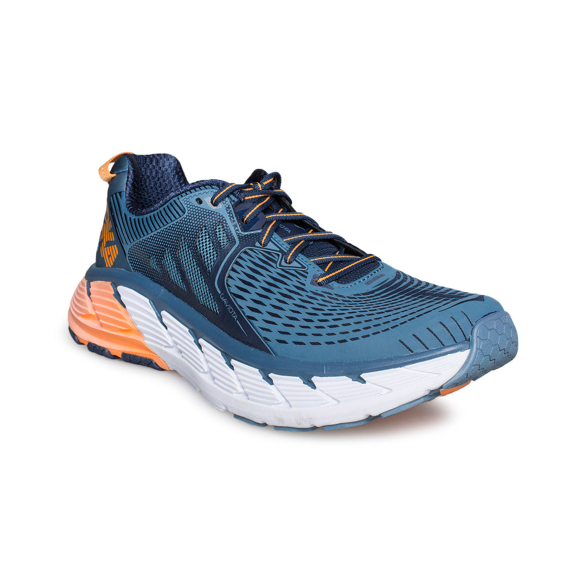 Hoka One One Gaviota Bluestone / Black Iris Running Shoes - Men's