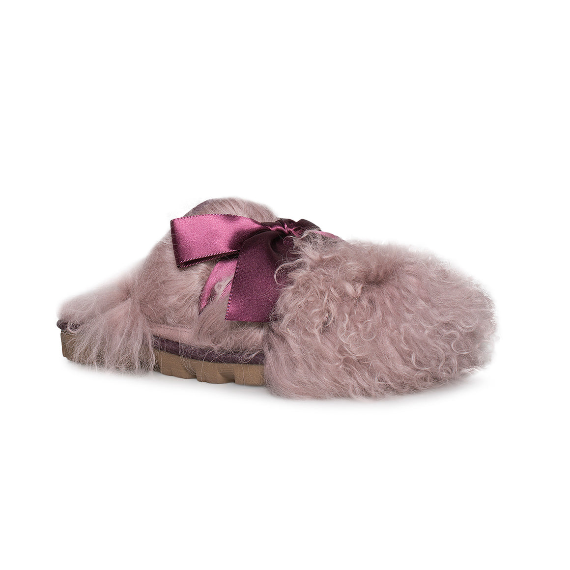 UGG Coquette Mongolian Port Slippers - Women's