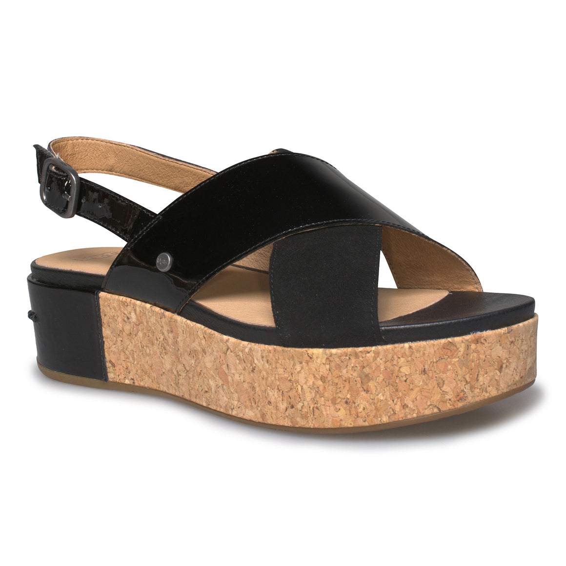 UGG Shoshana Black Sandals - Women's