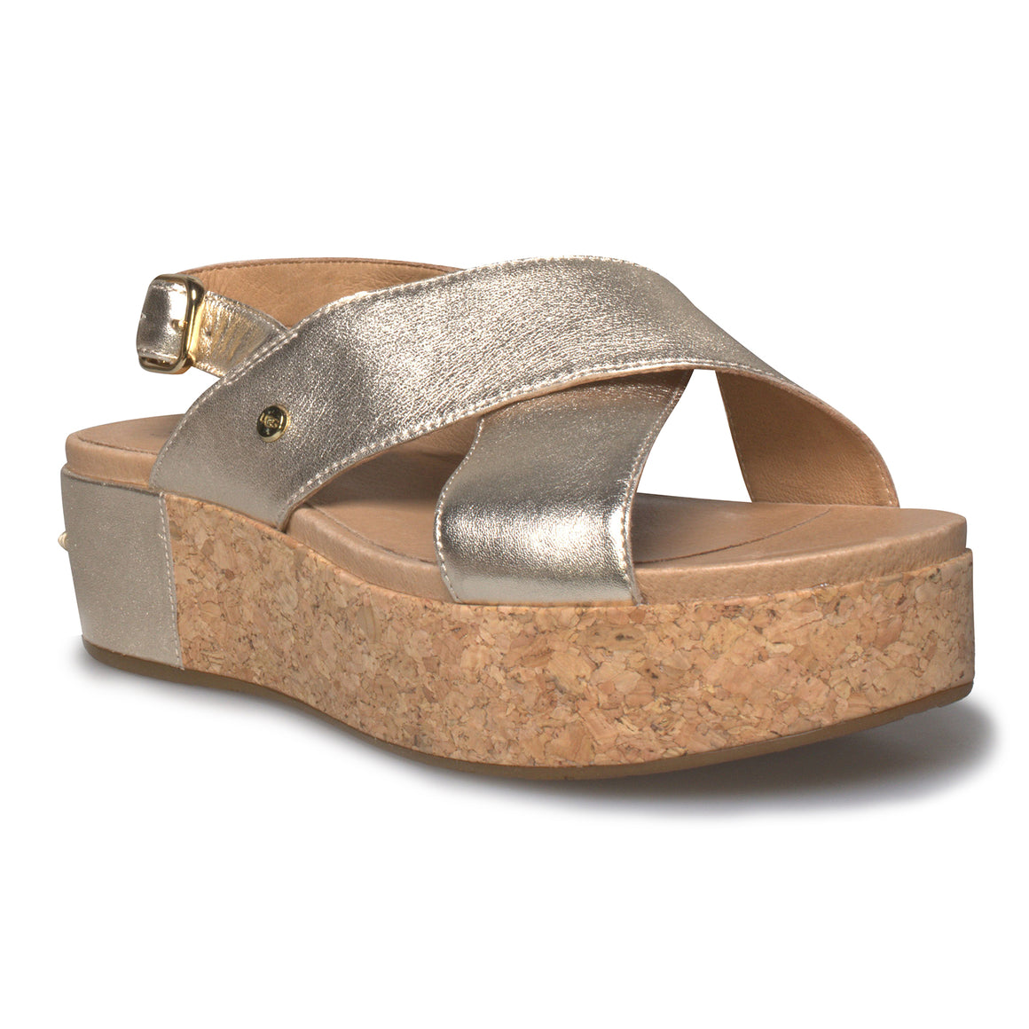 UGG Shoshana Gold Sandals - Women's