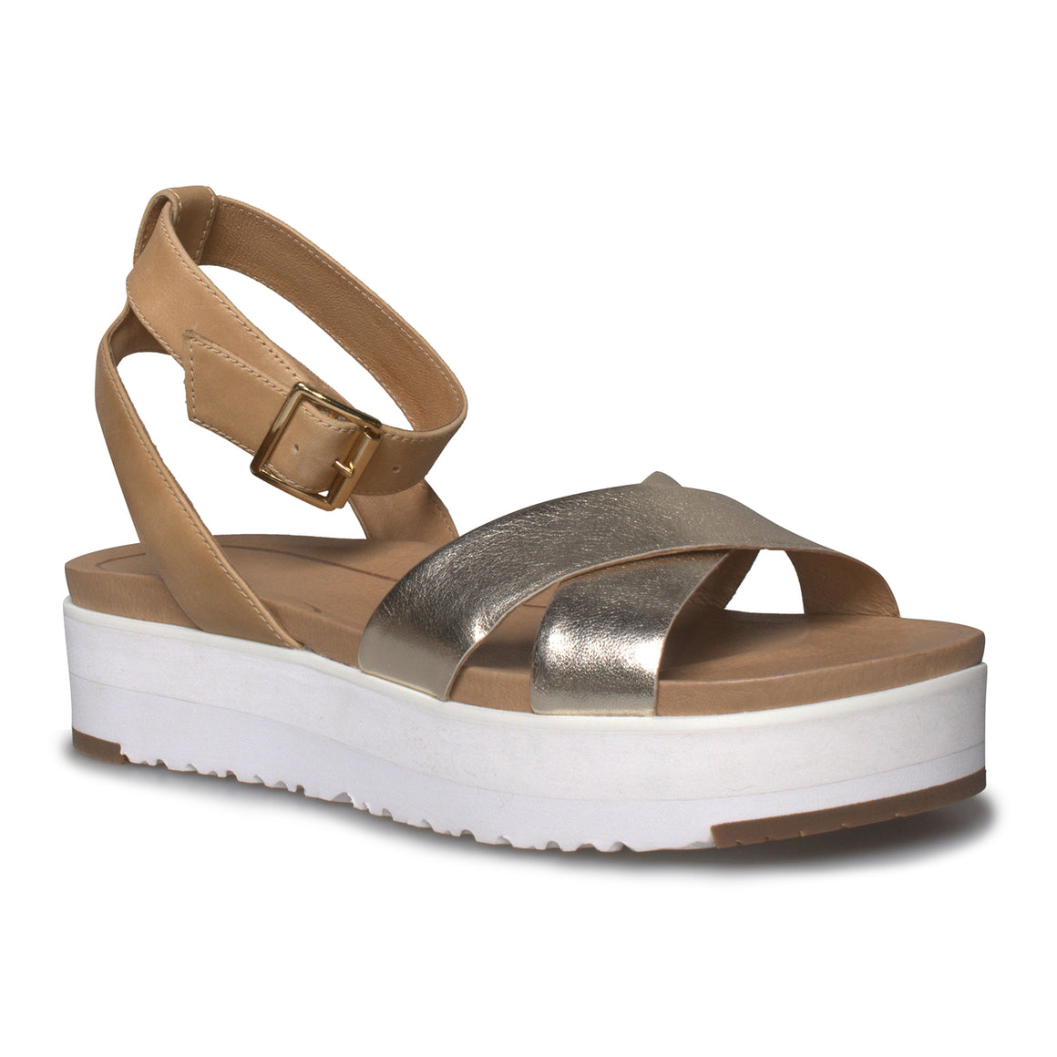 UGG Tipton Gold Sandals - Women's