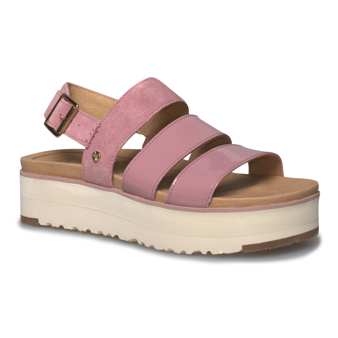 UGG Braelynn Pink Dawn Sandals - Women's