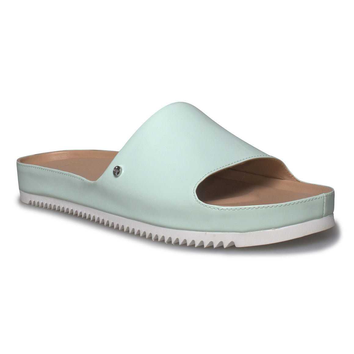 UGG Jane Patent Agave Glow Slip On Sandals - Women's