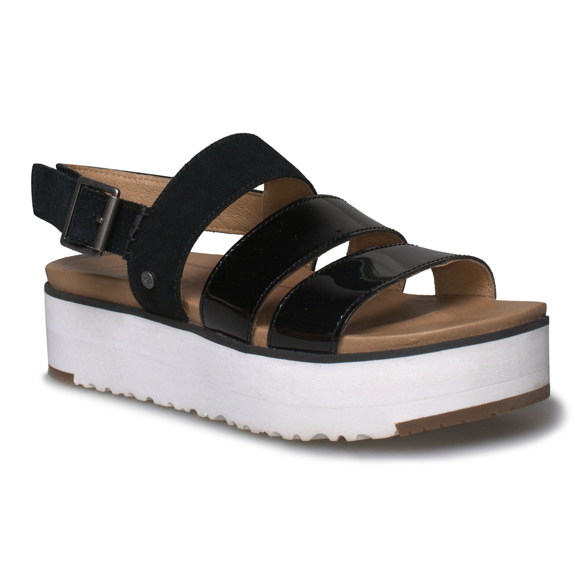 UGG Braelynn Black Sandals - Women's