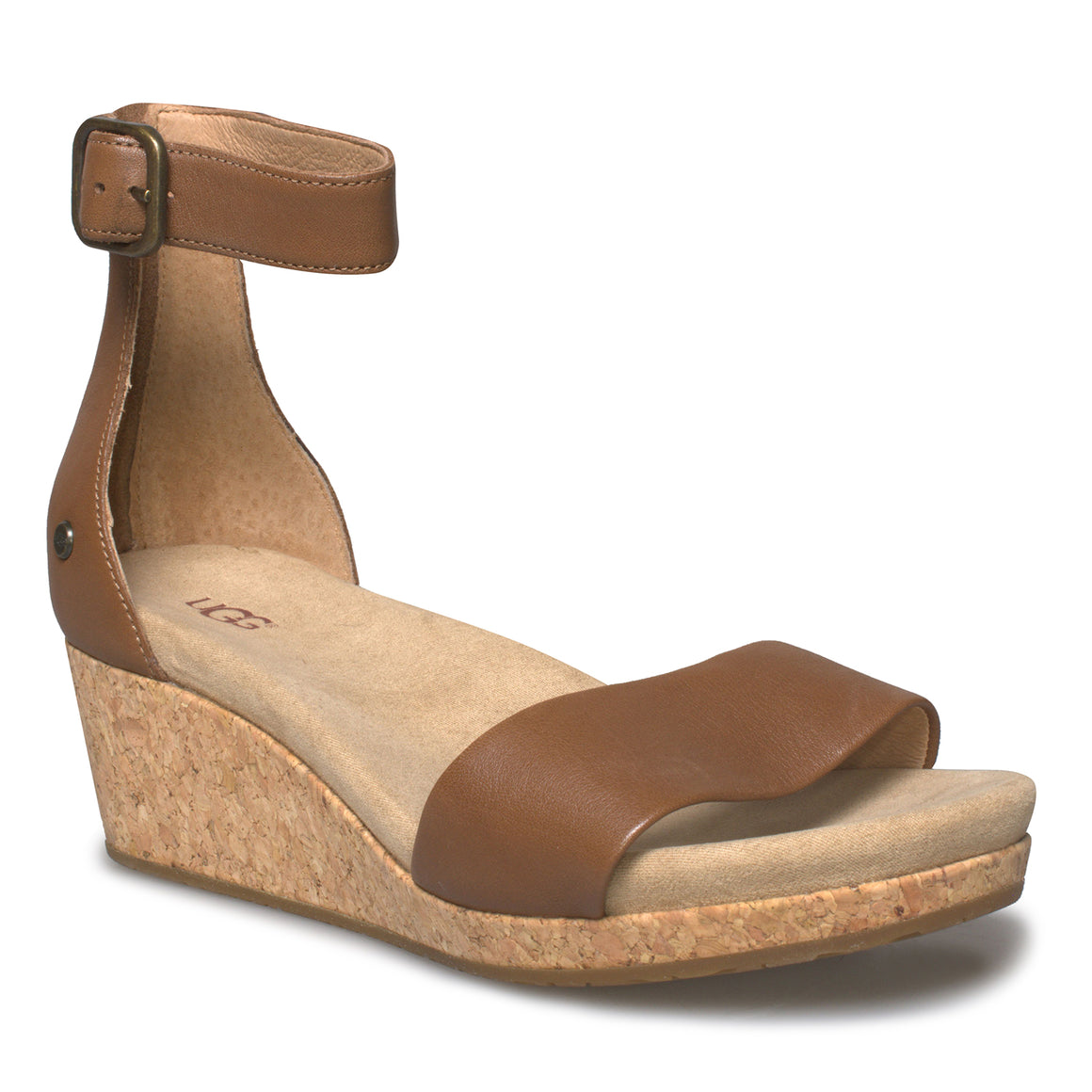UGG Zoe II Chestnut Sandals - Women's