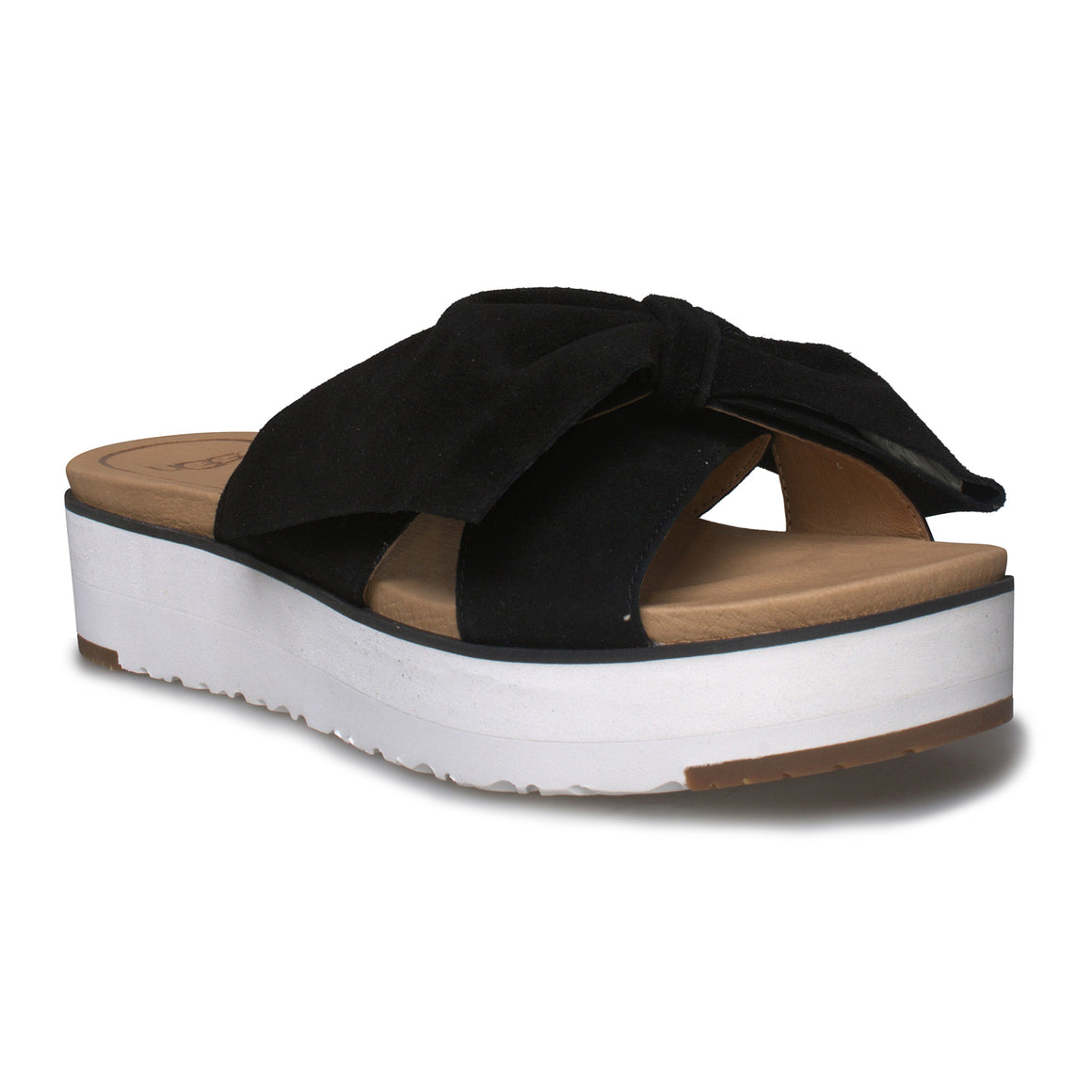 UGG Joan II Black Sandals - Women's
