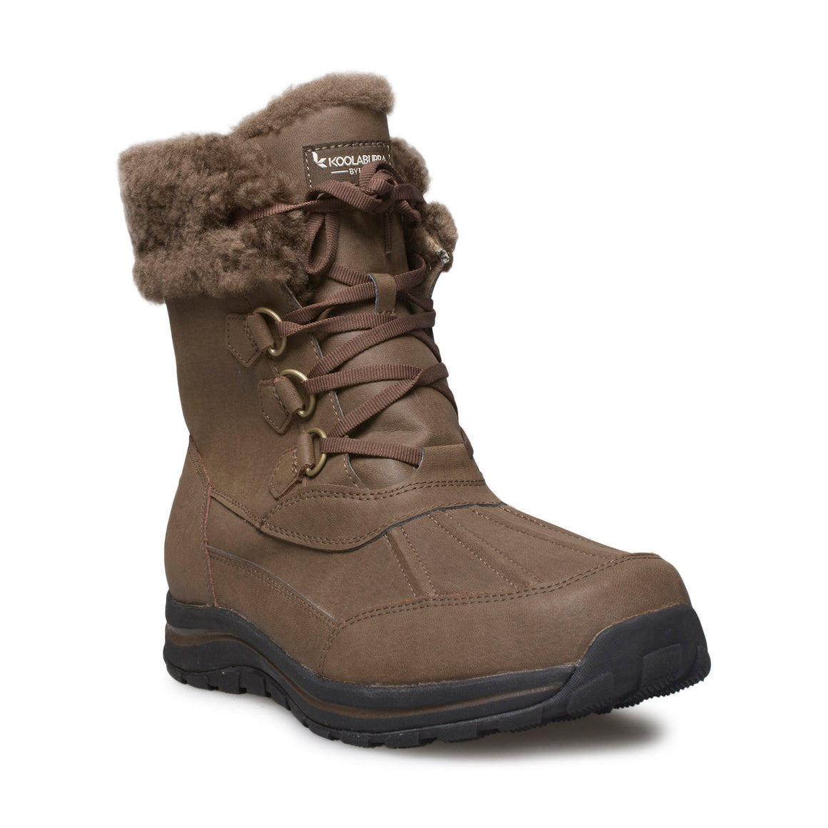 Koolaburra By UGG Neda Dark Earth Adirondack Boots — Women's