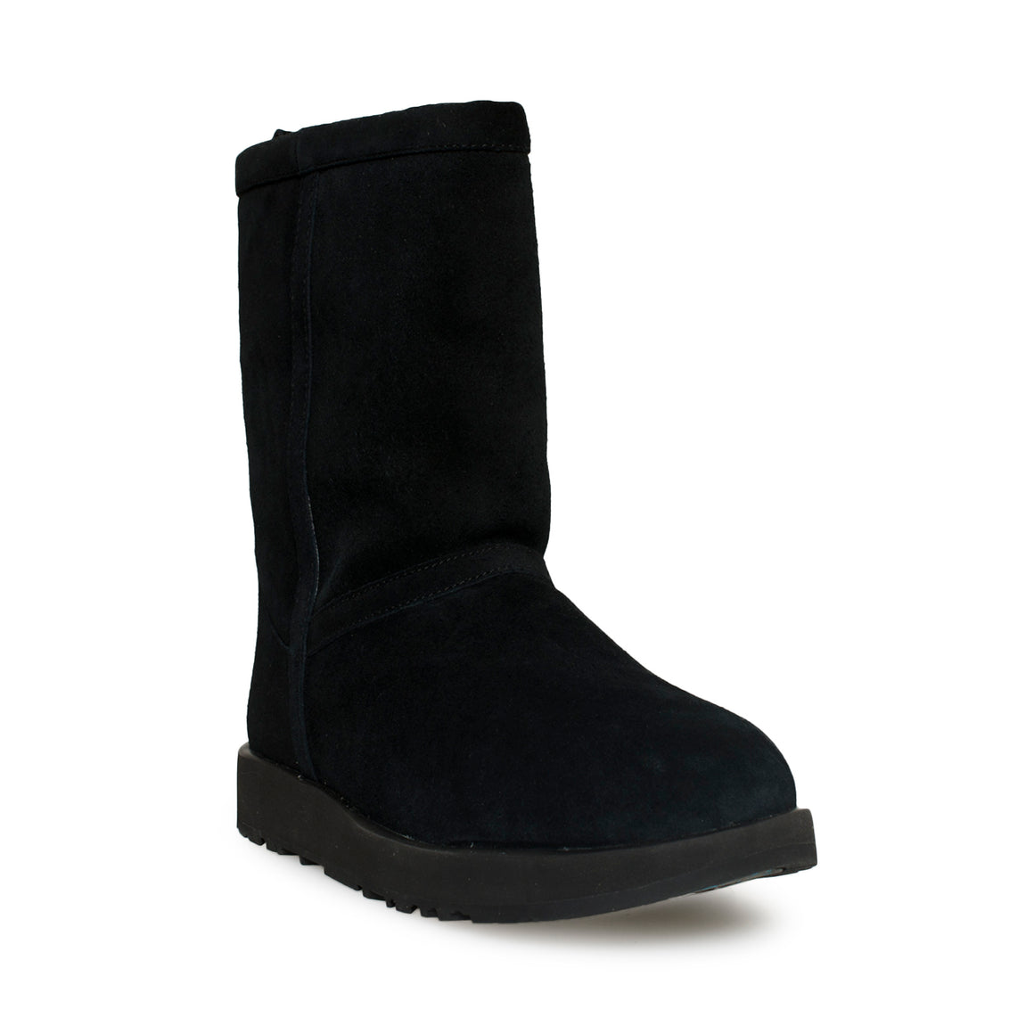 UGG Classic Short Waterproof Black Boots
