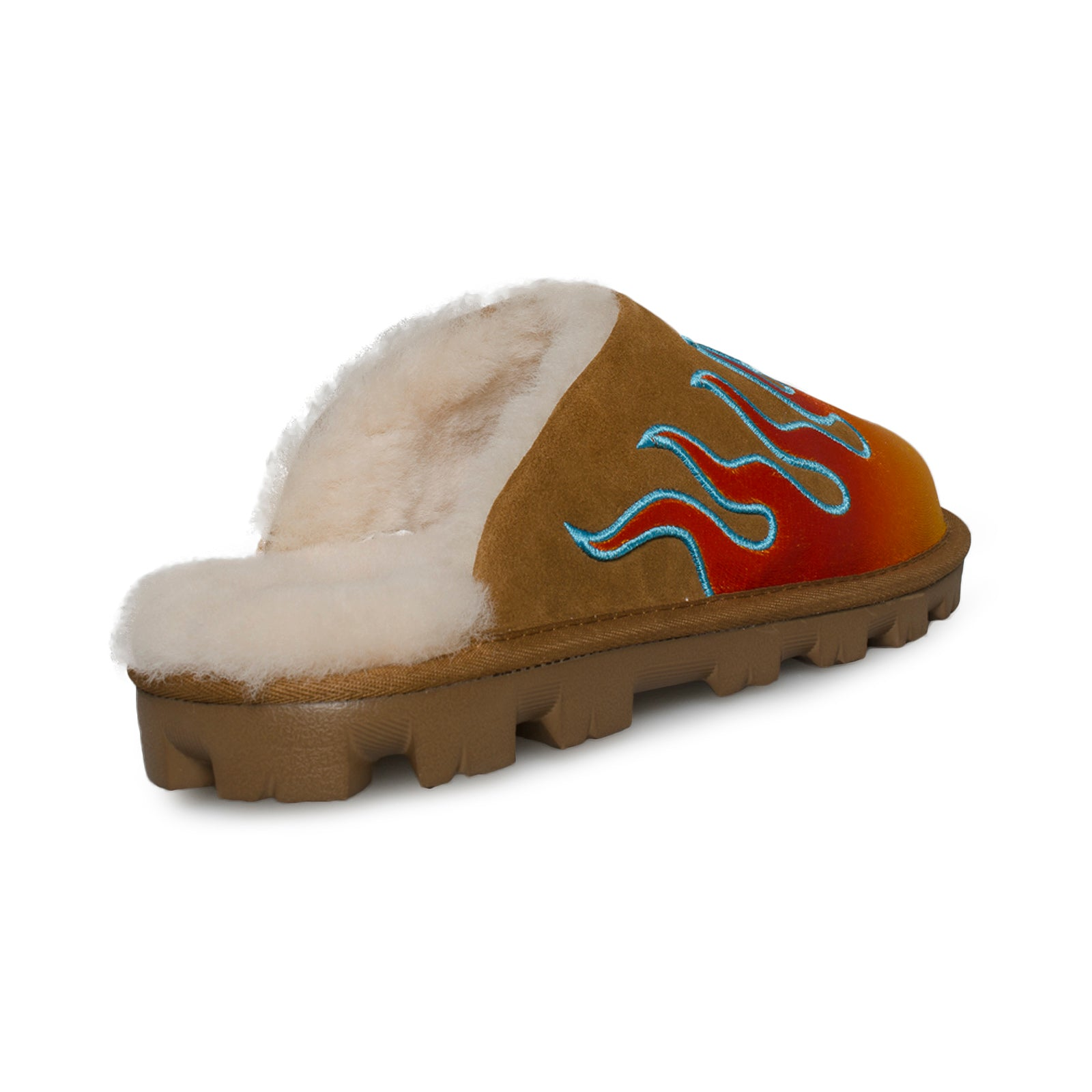 0a4fa2d5f5b UGG Coquette Flames Jeremy Scott Chestnut Slippers