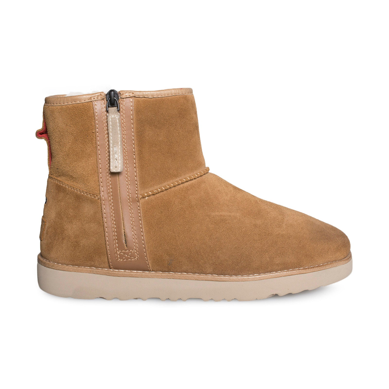 Ugg Classic Mini Zip Waterproof Chestnut Boots Mens Mycozyboots